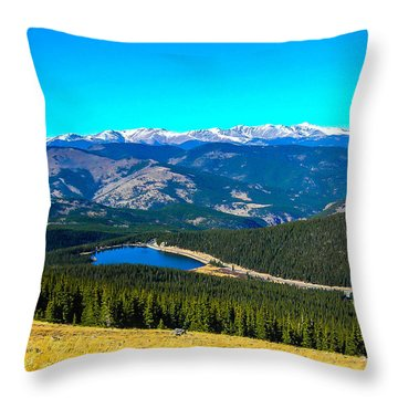 Throw Pillow featuring the photograph Paradise by Shannon Harrington