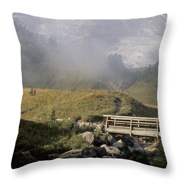 Throw Pillow featuring the photograph Paradise Valley by Sharon Elliott