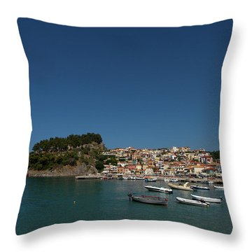 Parga  Throw Pillow by Jouko Lehto