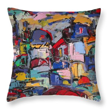 Paris 57 Throw Pillow