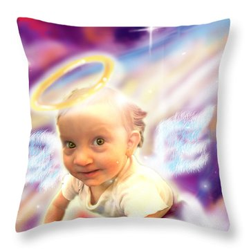 Parkinson.angelic 2 Throw Pillow