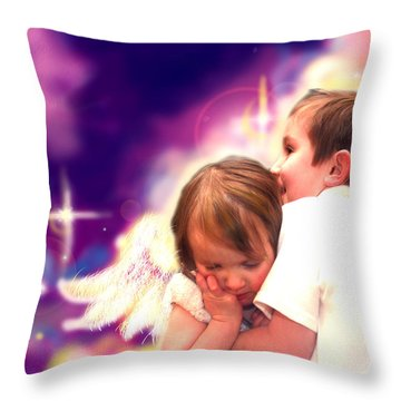 Parkinson.angelic 3 Throw Pillow