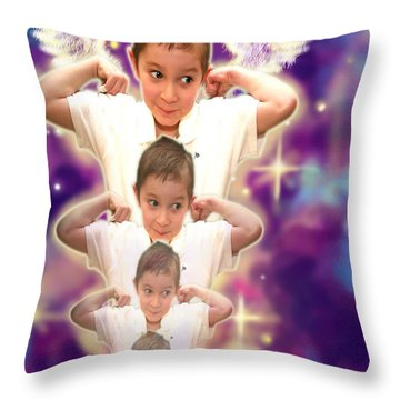 Parkinson.angelic  Throw Pillow