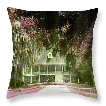 Parlange Plantation Circa 1750 New Roads La Throw Pillow by Lizi Beard-Ward