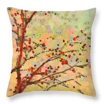 Parsi-parla - D16c02 Throw Pillow by Variance Collections