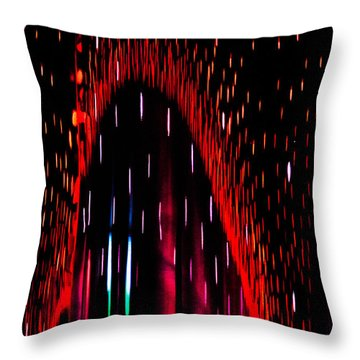 Particulated Arch Throw Pillow by Christopher Holmes