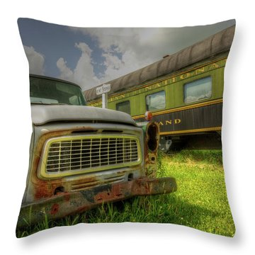 Partners In Time Throw Pillow