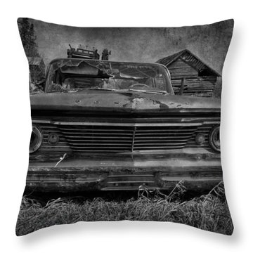 Party Seeds  Throw Pillow by Jerry Cordeiro