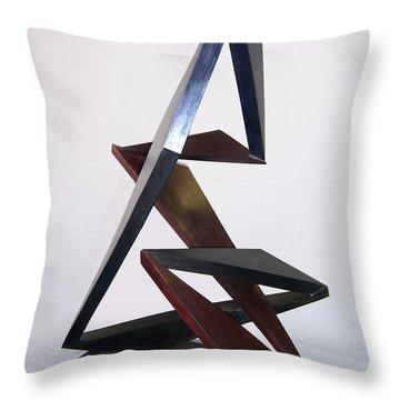 Paso Doble Throw Pillow by John Neumann