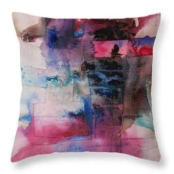 Passion Throw Pillow by Marilyn Woods