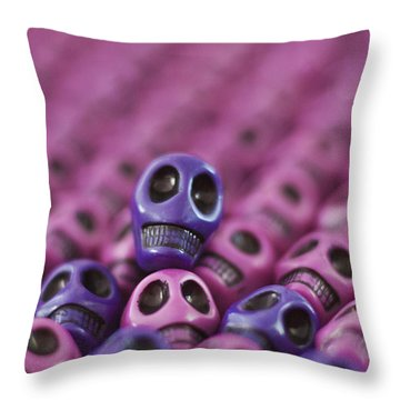 Passionate Smile Throw Pillow by Mike Herdering