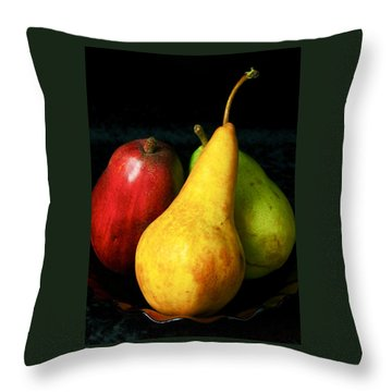 Throw Pillow featuring the photograph Passions I by Elf Evans