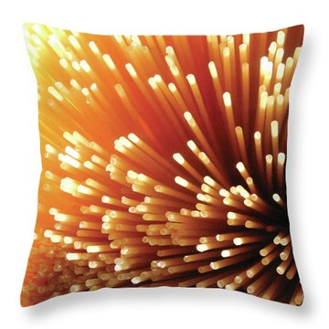 Pasta Illumination Throw Pillow