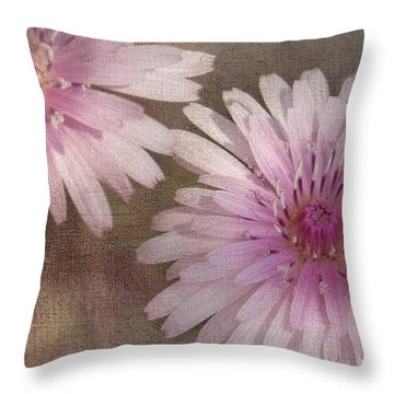 Pastel Pink Passion Throw Pillow by Benanne Stiens