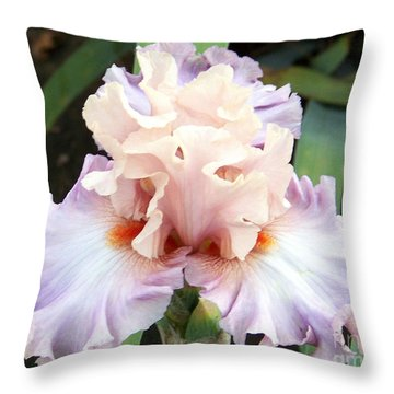 Pastel Variations Throw Pillow by Dorrene BrownButterfield