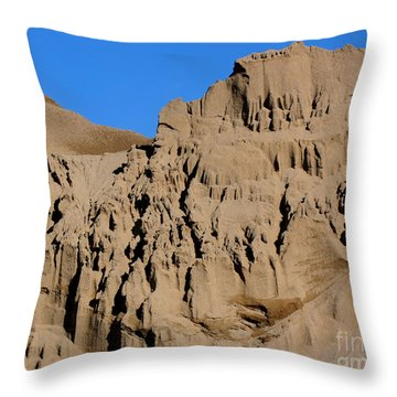 Patterns In The Sand No. 1 Throw Pillow