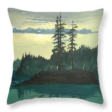 Peace And Quiet Throw Pillow by Norm Starks