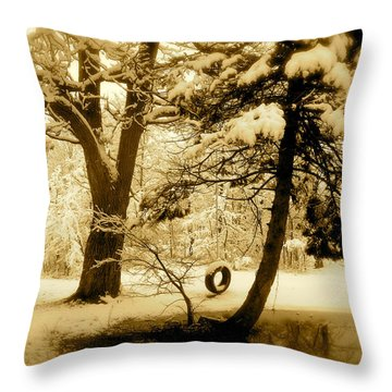 Peace Throw Pillow by Arthur Barnes