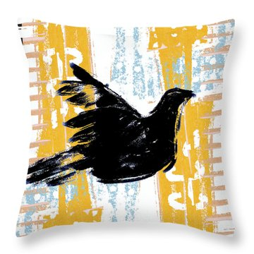 Peace Dove 1 Throw Pillow