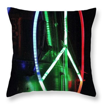 Peace O My Heart Throw Pillow by Jesse Ciazza