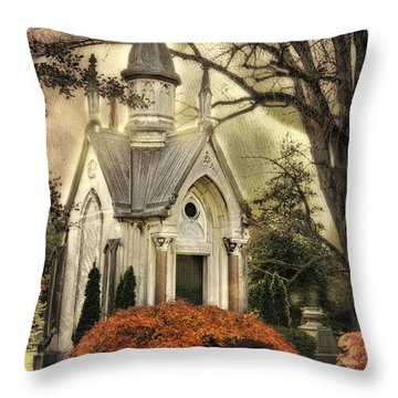 Throw Pillow featuring the photograph Peaceful by Mary Timman