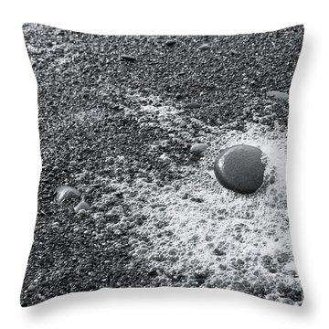 Pebble On Foam Throw Pillow