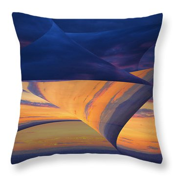 Peeling Back The Layers Throw Pillow
