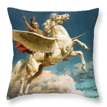 Pegasus Throw Pillows