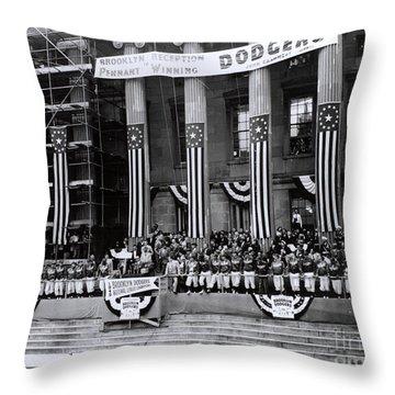 Pennant-winning Reception Throw Pillow