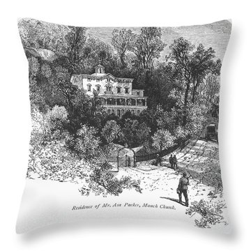 Pennsylvania: House, C1876 Throw Pillow by Granger