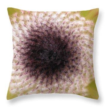 Perceptiveness Throw Pillow by Tina Marie