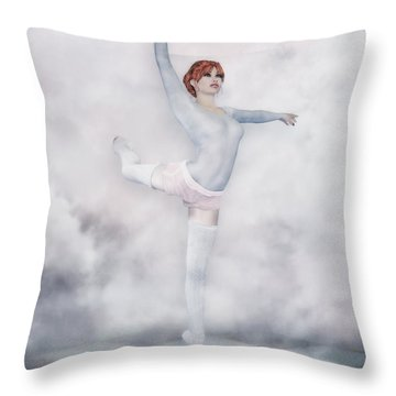 Perfection Throw Pillow by Jutta Maria Pusl