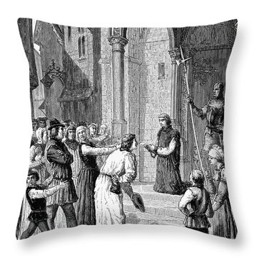 Perkin Warbeck Throw Pillow