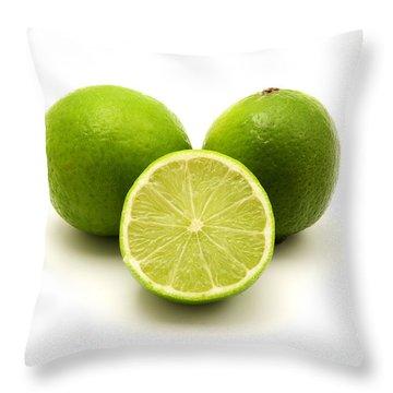 Persian Lime Throw Pillow by Fabrizio Troiani