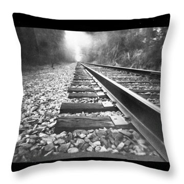 Perspective Throw Pillow by Dan Wells