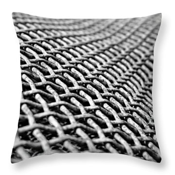 Perspective Throw Pillow by Leanna Lomanski