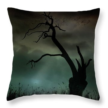 Petrified Throw Pillow