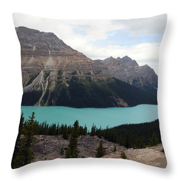 Peyto Throw Pillow