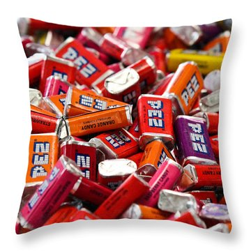 PEZ Throw Pillow