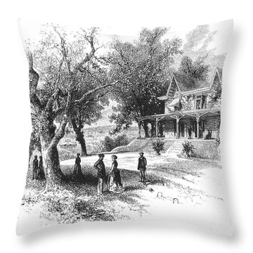 Philadelphia: Norwood Throw Pillow by Granger