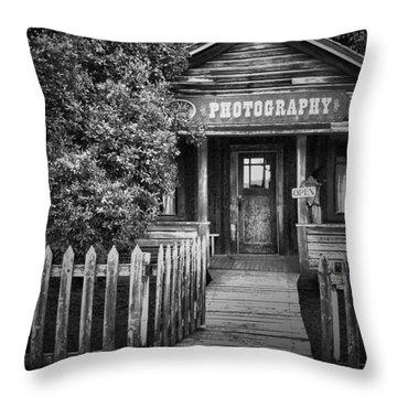 Photo Shop  Throw Pillow by Jerry Cordeiro
