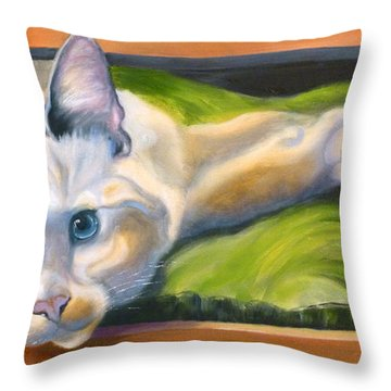 Picture Purrfect Throw Pillow