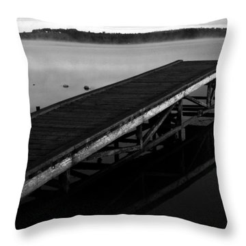 Piers Of Pleasure  Throw Pillow by Empty Wall
