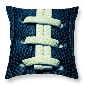 Pigskin Throw Pillow