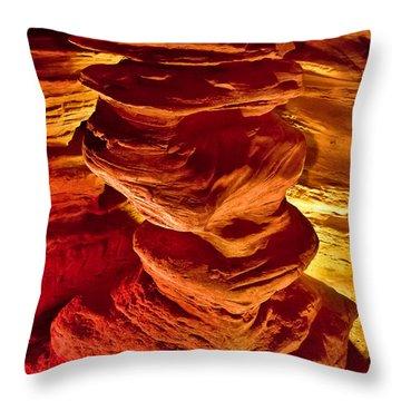 Pillar Of Hercules Throw Pillow