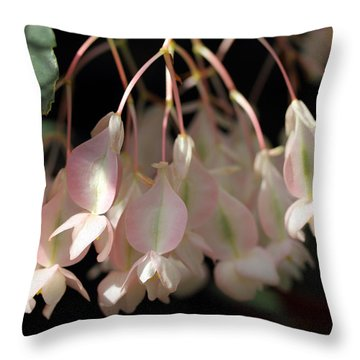 Pink And Pretty Throw Pillow