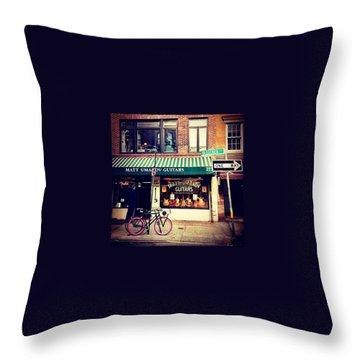 Bicycles Throw Pillows
