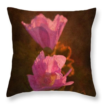 Pink Delight Throw Pillow by Aimelle