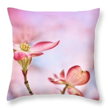 Pink Passion Throw Pillow by Darren Fisher
