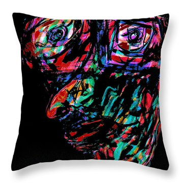 Pinocchio Throw Pillow by Natalie Holland